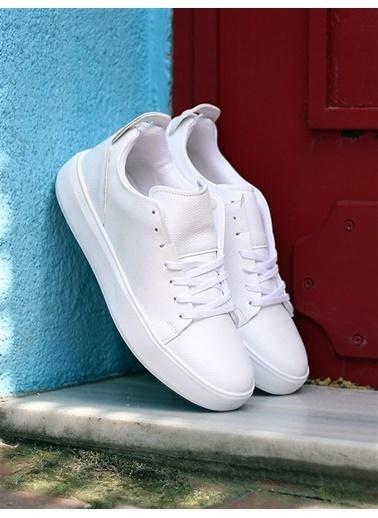 Rodrigo 513 Erkek  Beyaz Ayakkabı  Beyaz